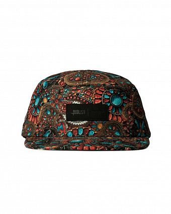 Бейсболка Publish 5 Panel Turquoise