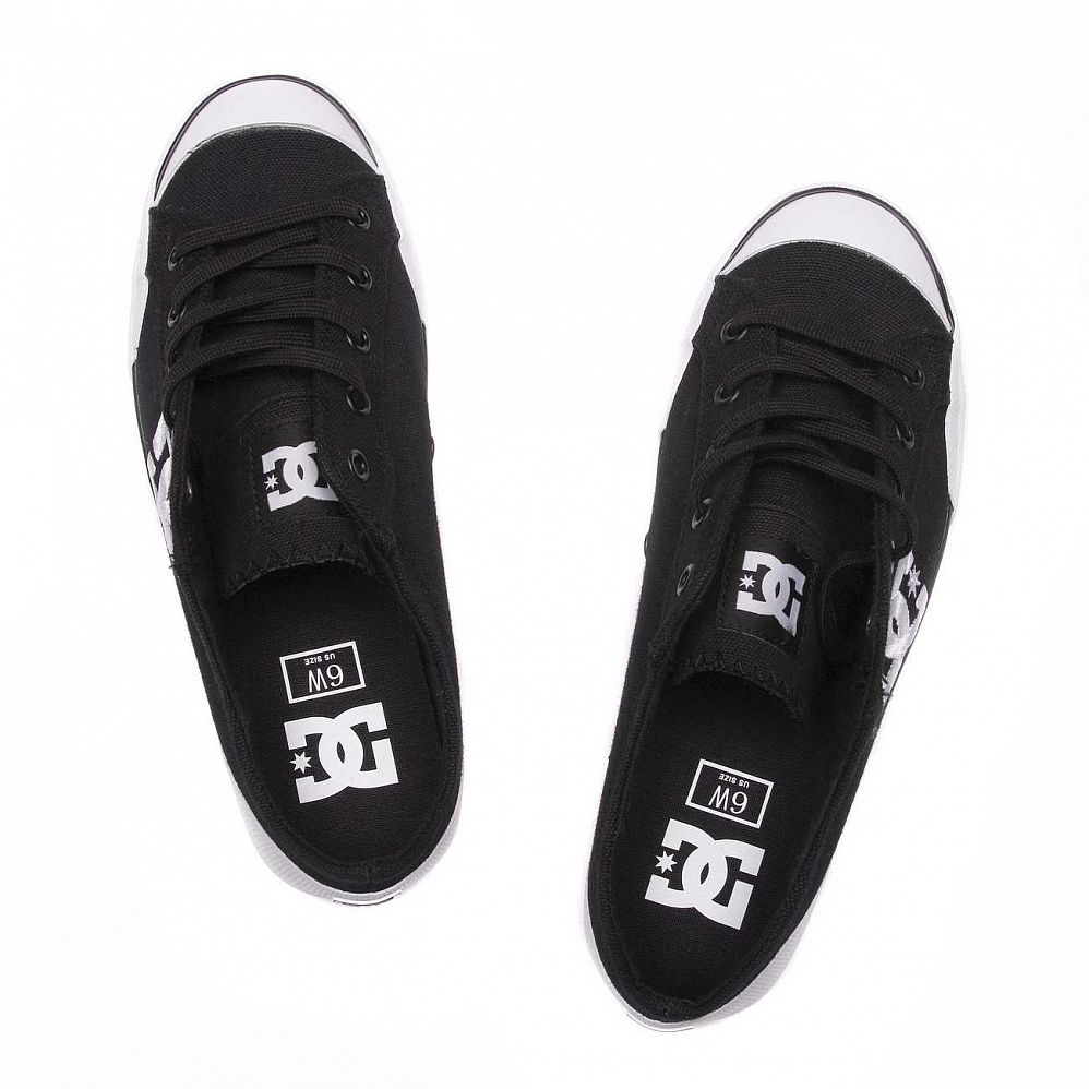 Кеды DC Shoes Chelsea Z Low W'S Black White купить в интернете