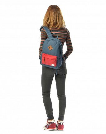 Рюкзак городской Herschel Heritage Youth Navy Red
