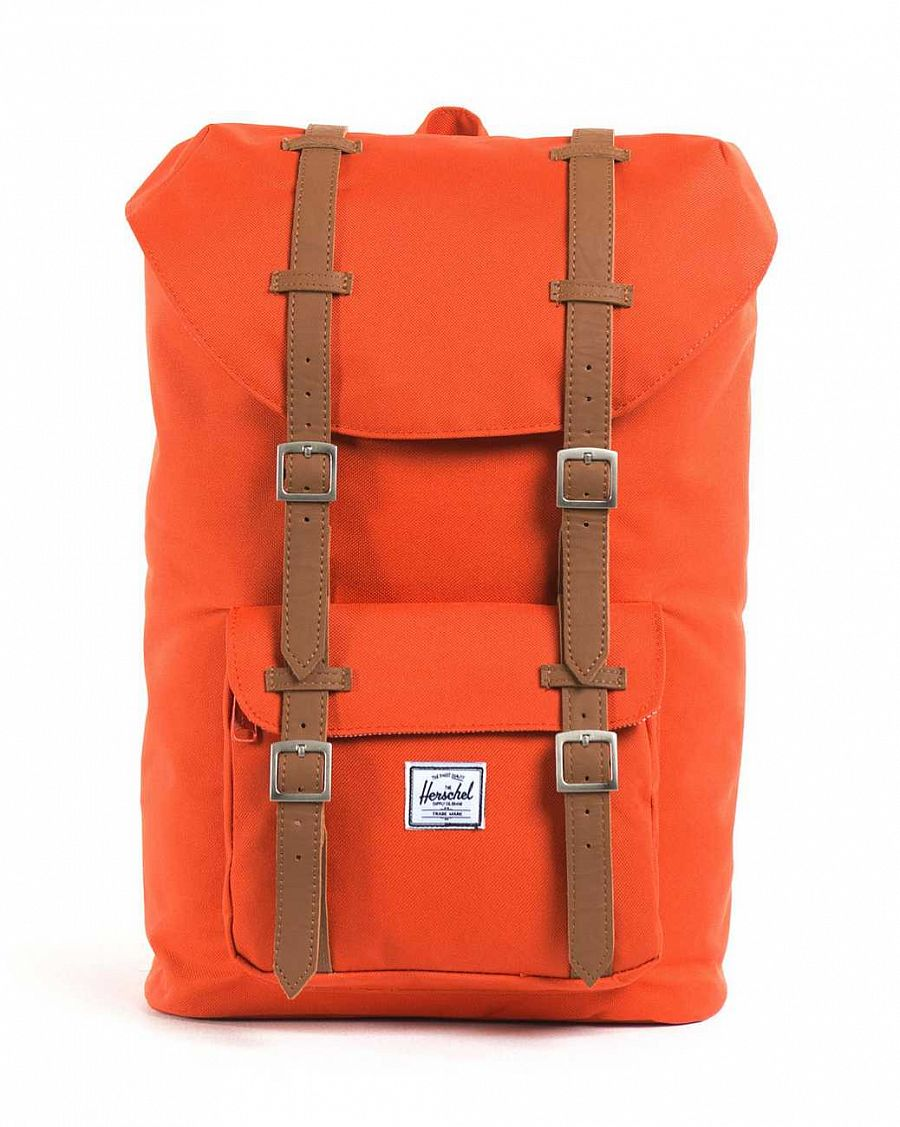Рюкзак Herschel Little America Mid-Volume Camper Orange (10020) отзывы