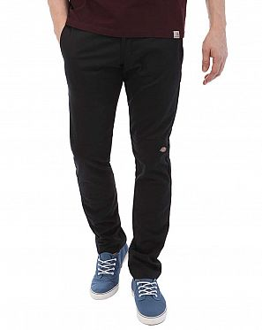 16c54c8c6f4 Брюки мужские зауженные Dickies 1922 Skinny Straight Fit Double Knee Work  Black ...