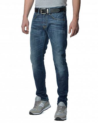 Джинсы мужские Edwin ED-55 Relaxed Tapered Dark Blue Denim 12 Oz Blue Breeze