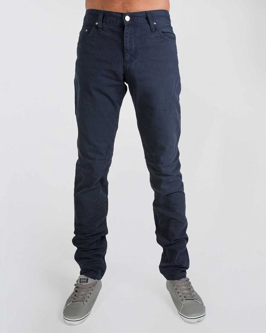 купить Брюки Carhartt Ziggy Pant Louisiana Cotton Color Denim 10,5 Oz Navy Vintage Washed в Москве
