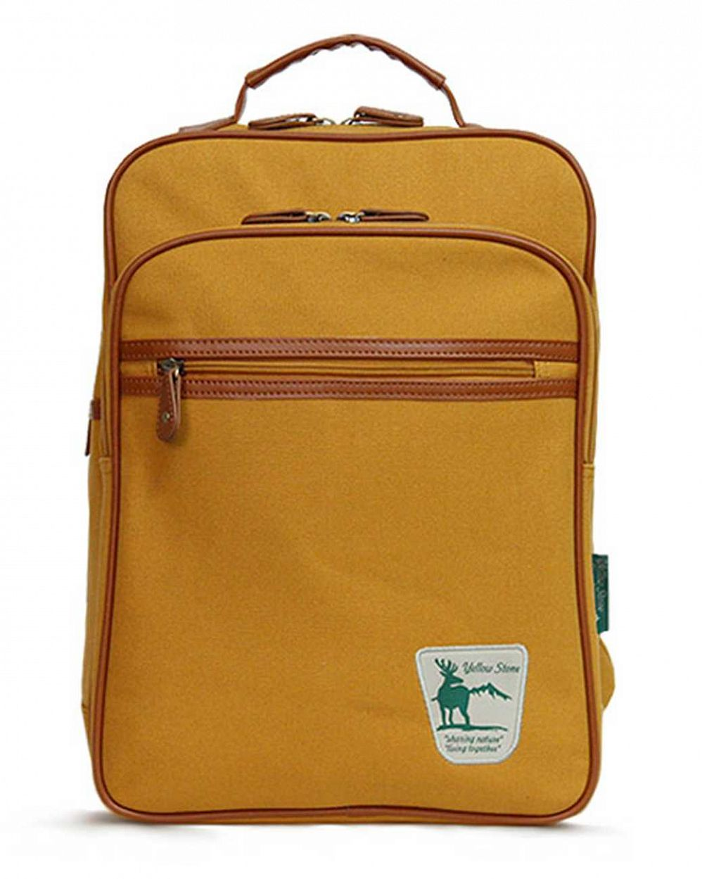 купить Рюкзак YellowStone Canvas Backpack II mustard YS Originals в Москве