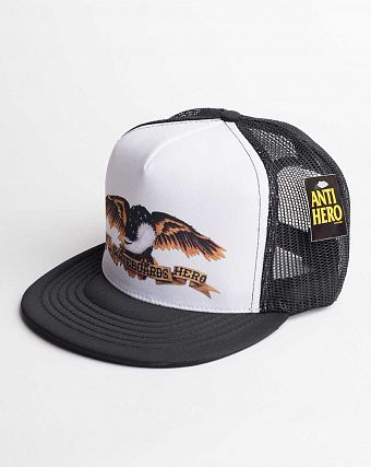 Бейсболка Anti Hero Pinata Trucker Black White