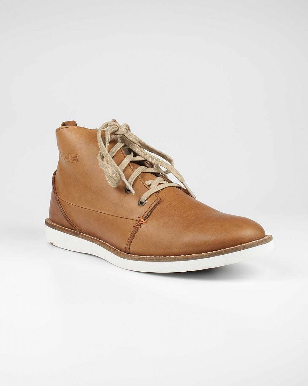 купить Ботинки Hubfootwear Jag Wool Leather not tumbl brown white в Москве