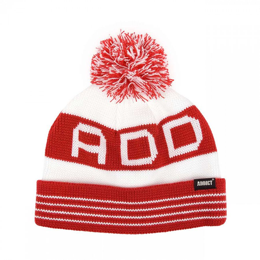 Шапка Addict U10222 Red/white отзывы