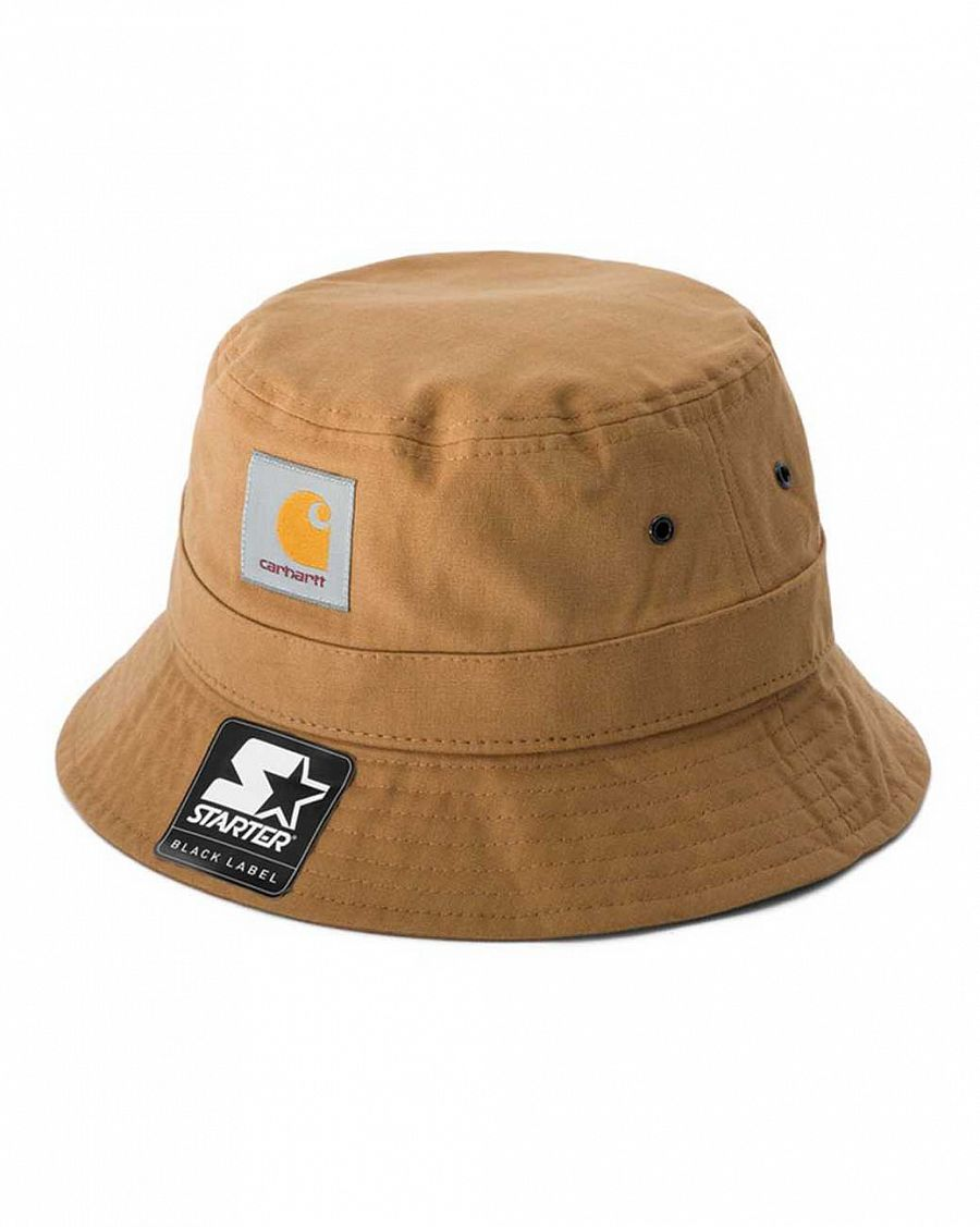 6f0a1f3ec2719 ... WIP Carhartt Watch Bucket Hat in Black for Men. Панама 100%  хлопок Carhartt