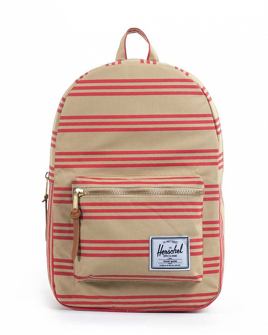 купить Рюкзак Herschel Settlement Plus Red Khaki Stripe (10006-IN) в Москве
