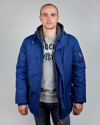 Куртка-парка Knowledge Cotton Apparel 92061 Navy