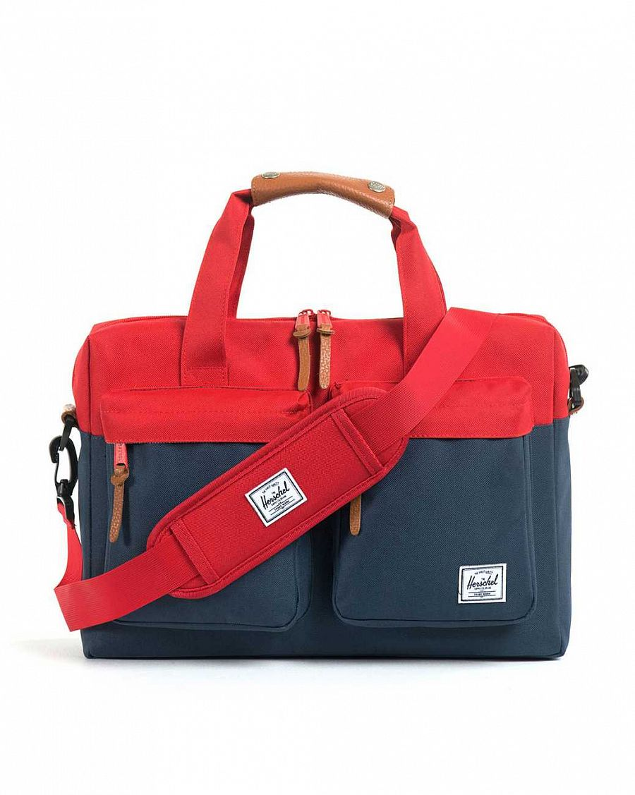 Сумка Herschel Totem Red Navy отзывы