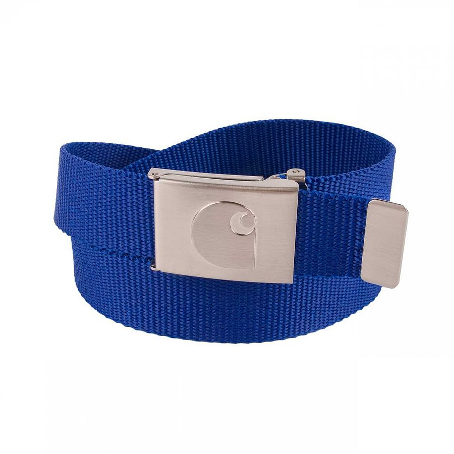 Ремень Carhartt WIP Clip Belt Chrome Pacific отзывы