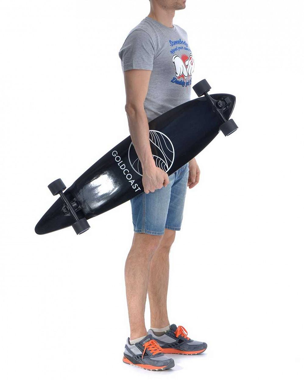 Лонгборд Gold Coast Longboards Classic Black отзывы