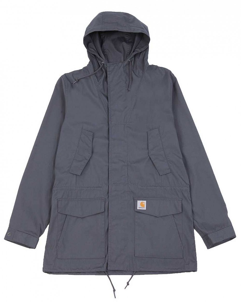 Парка ветровка Carhartt WIP Battle Parka Blacksmith отзывы