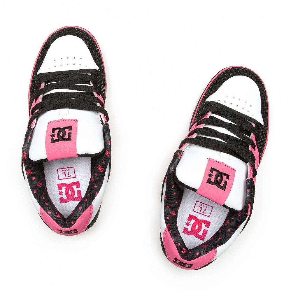 Кеды DC Shoes Pure SE Ladies Shoe Blk/crazy Pink купить в интернете