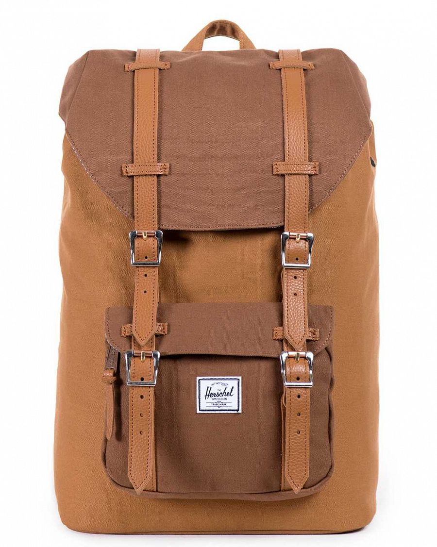 купить Рюкзак Herschel Little America Caramel Coated Cotton Canvas в Москве