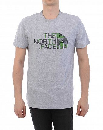 Футболка The North Face 000035695 Grey Green