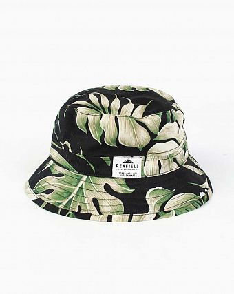 Панама Penfield  Baker Hat Black Palm
