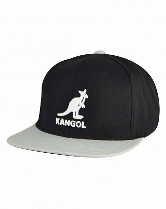 Бейсболка Kangol Championship Links Adjustable Black Grey