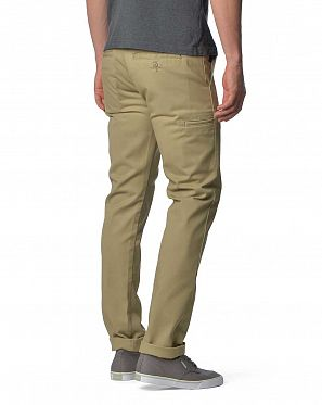 6ed9da30d0e ... Брюки зауженные Carhartt USA Blended Twill Work Pant khaki ...