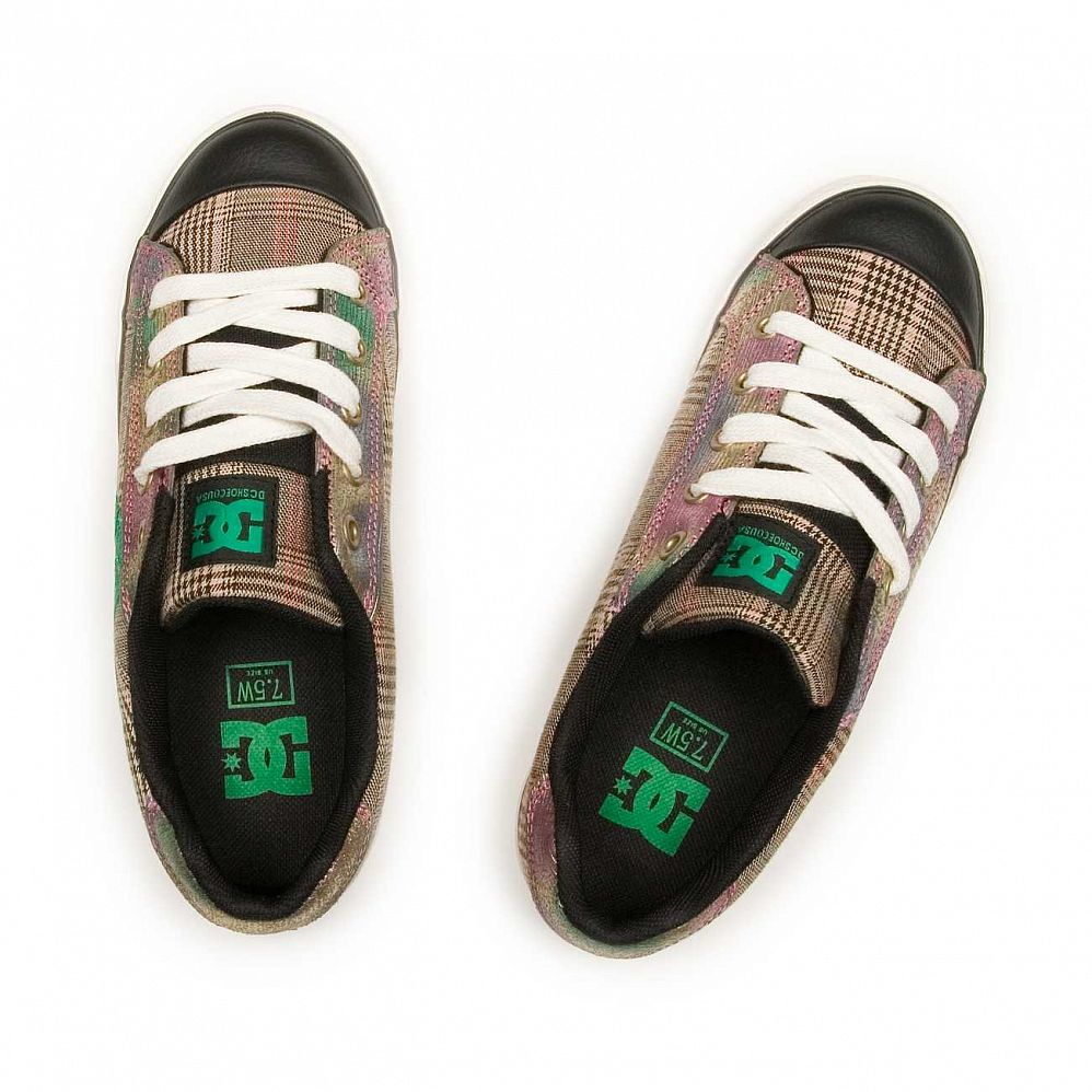 Кеды DC Shoes Chelsea W'S Black Green купить в интернете