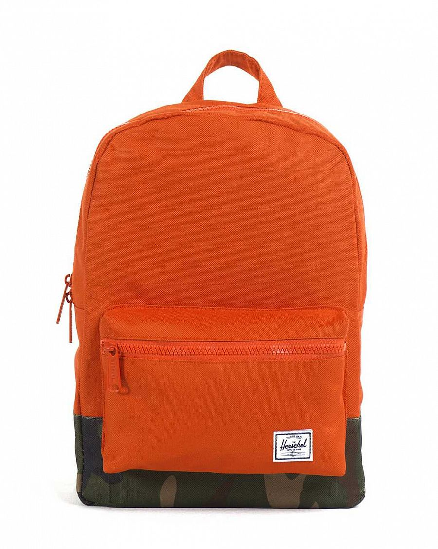 купить Рюкзак Herschel Settlements Youth Hunter Orange Woodland Camo (10075) в Москве