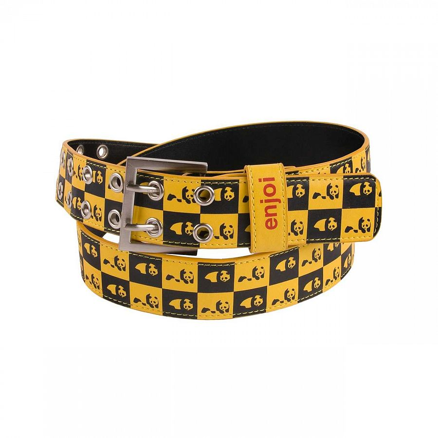 Ремень Enjoi Check It Vinil Belt Yellow отзывы
