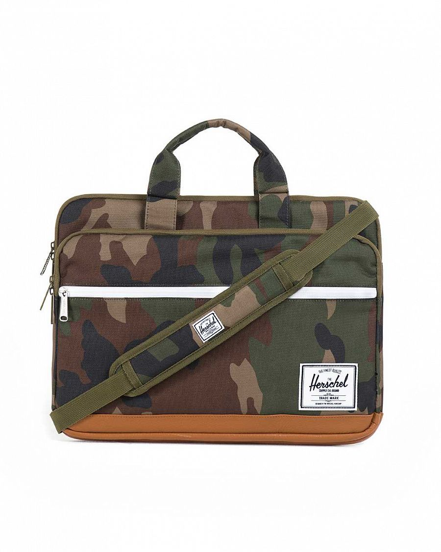 Сумка Herschel Pop Quiz Carry All для 13'' Macbook Woodland Camo отзывы