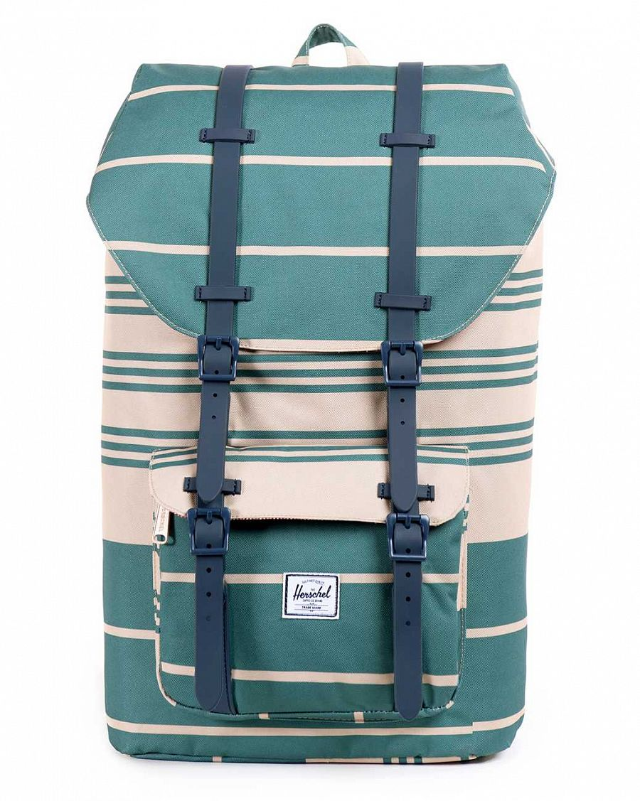 купить Рюкзак Herschel Little America Army Stripe Navy Rubber в Москве