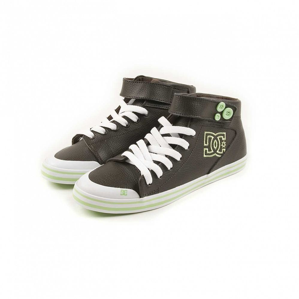 купить Кеды DC Shoes Venice Mid LE W'S Chocolate Green в Москве