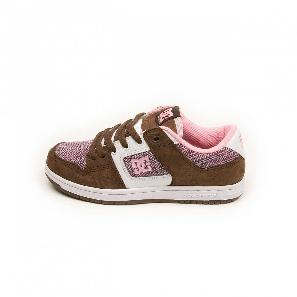Кеды DC Shoes Manteca 2 W'S Dark Chocolate Pink отзывы