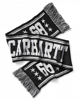 Шарф мужской Carhartt WIP Fan Scarf Black White