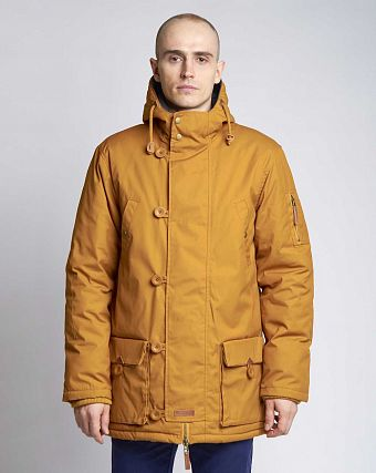Куртка-парка Knowledge Cotton Apparel 92061 Buckthorn Brown