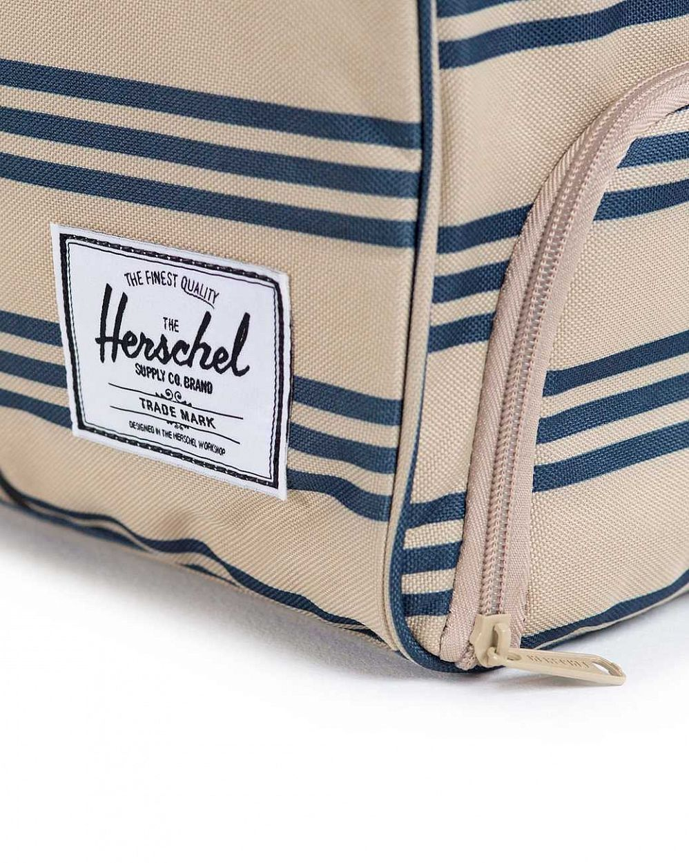 Сумка спортивная Herschel Novel Canvas Navy Khaki Stripe цена в Москве