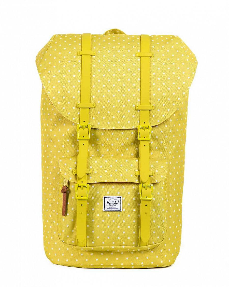 купить Рюкзак Herschel Little America Mid-Volume Apple Polka Dot  (10020-PD) в Москве