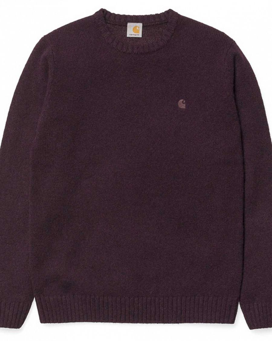 купить Свитер Carhartt WIP University Sweater Burnt Umber Heather в Москве