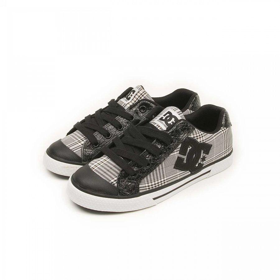 486af82364d Кеды женские DC Shoes Chelsea Black Plaid купить в интернет-магазине ...