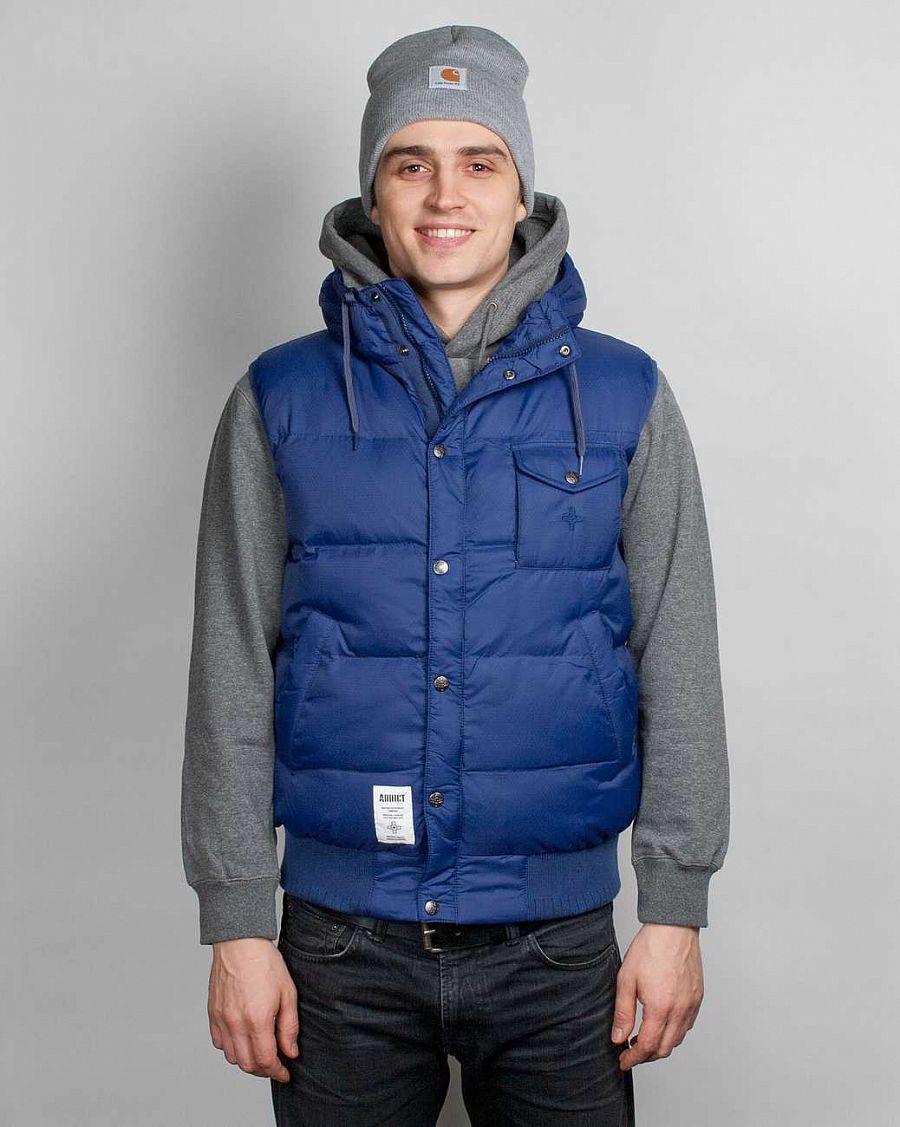 Жилет Addict Method Bodywarmer Navy отзывы