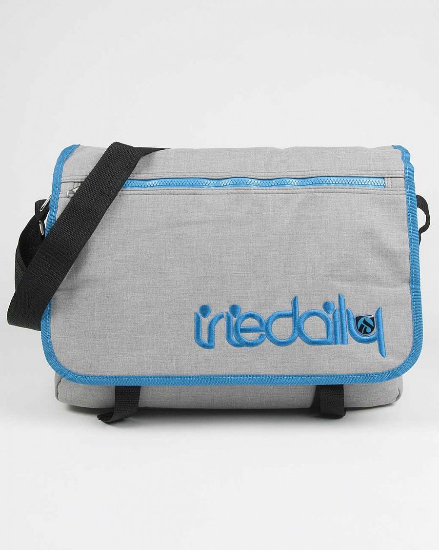 купить Cумка Iriedaily Allied Shoulder Bag Cyan Blue в Москве