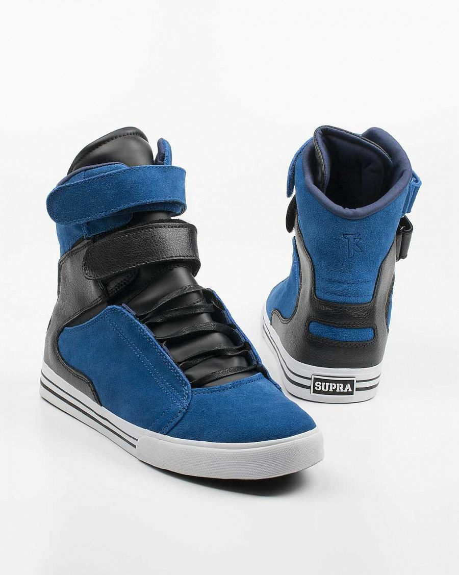 купить Кеды Supra Society Terry Kennedy Pro Model Tuf Royal/black Suede в Москве