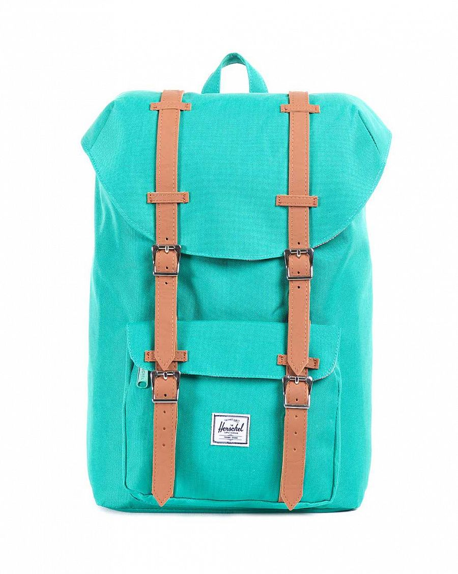 Рюкзак Herschel Little America Mid-Volume Green  (10020) отзывы
