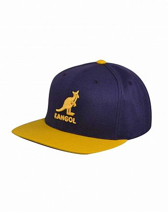 Бейсболка Kangol Championship Links Adjustable Purple Yellow