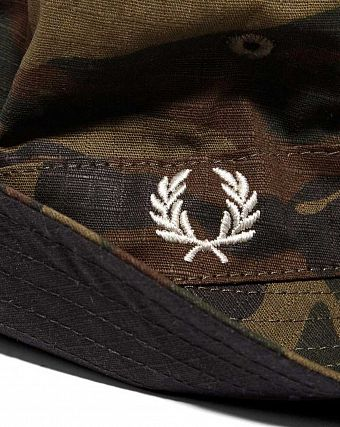 Панама Fred Perry RIPSTOP REVERSIBLE BUCKET HAT 408