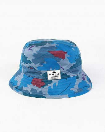 Панама Penfield  Baker Hat Vine Camo Blue
