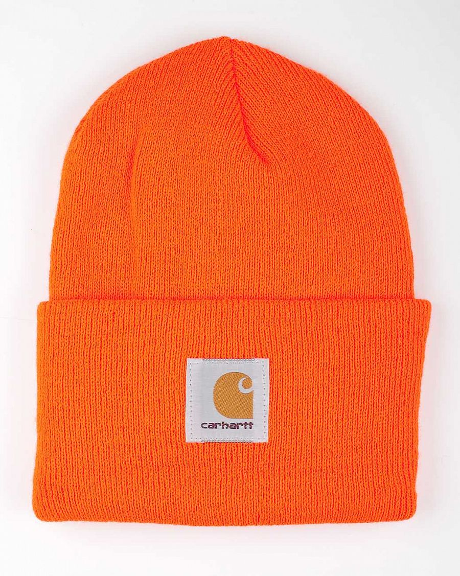 купить Шапка Carhartt WIP Acryllic Watch Hat Bright Orange в Москве