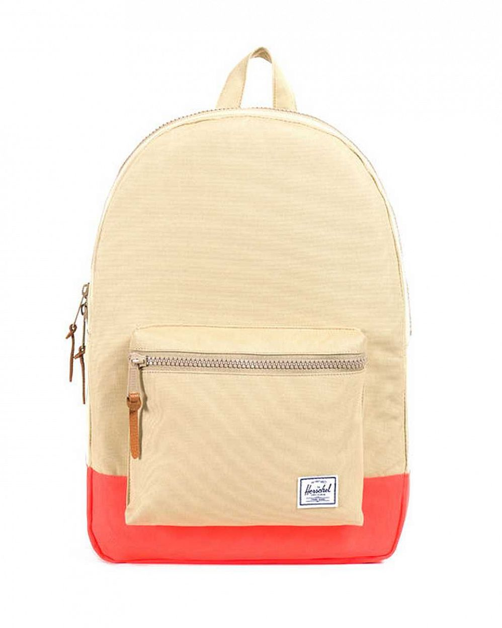 купить Рюкзак Herschel Settlement Khaki Neon Orange Rubber в Москве