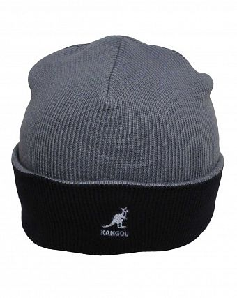 Шапка Kangol 2978BC Acrylic Cuff Pull-On Storm Dark Blue