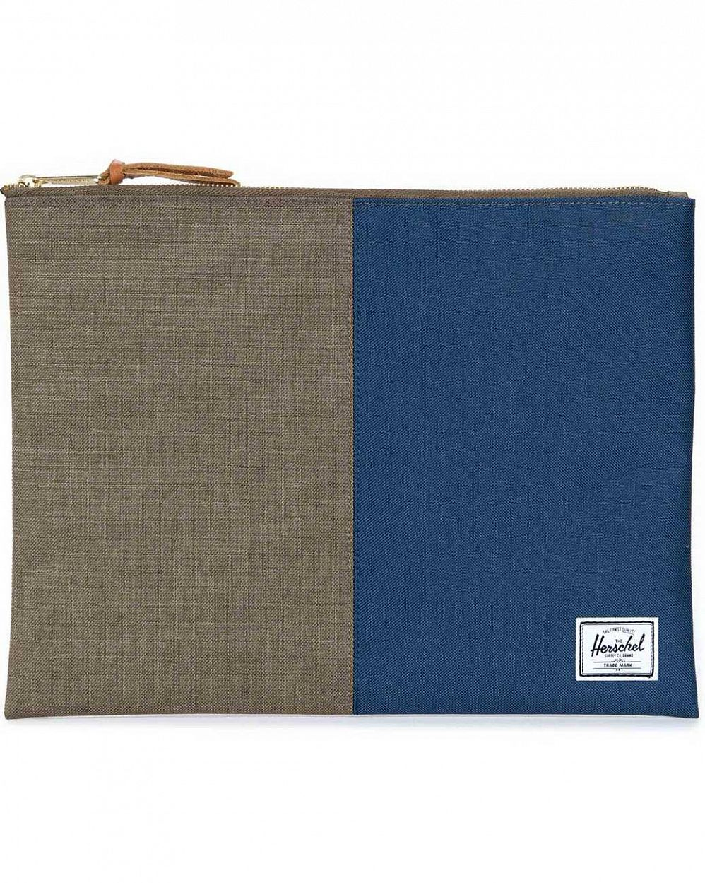 Клатч Herschel Network Extra Large beech crosshatch navy отзывы