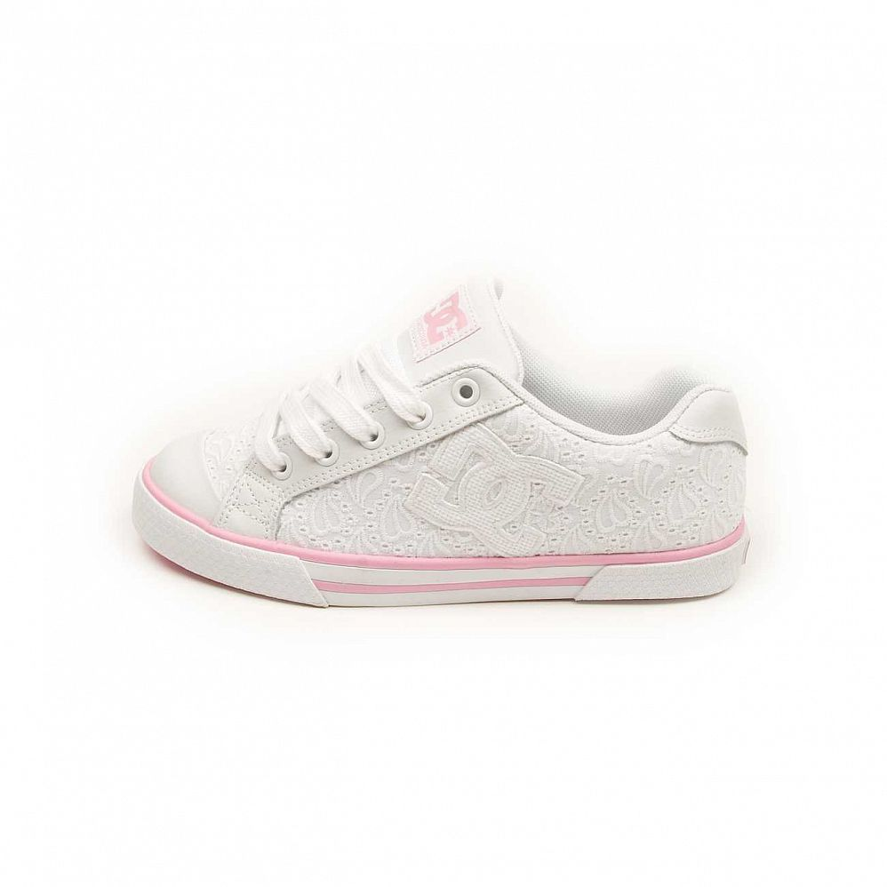 Кеды DC Shoes Chelsea W'S White White отзывы