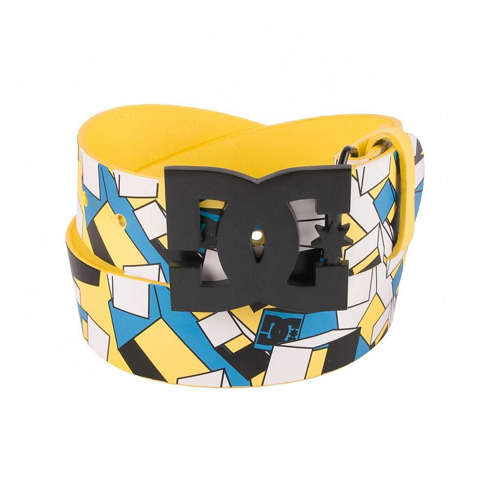 Ремень DC Clover Belt Yellow/blue/white отзывы
